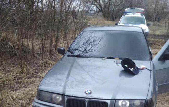 В Днепропетровской обл. водитель бросил гранату в полицейских