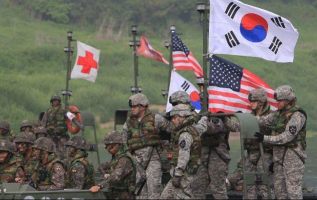 США и Южная Корея начали военные учения