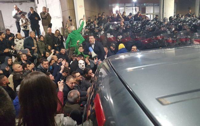 В Сербии демонстранты требовали  отставки Вучича