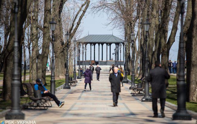 Погода в Украине: температура до +20, местами дожди