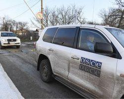 Боевики на Донбассе ограничивают доступ наблюдателей ОБСЕ к границе