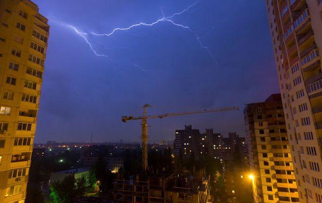 В Киеве 24-25 мая ожидаются грозы