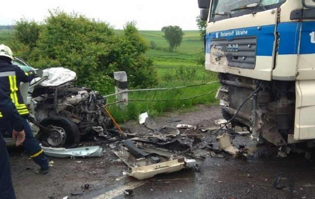 В Тернопольской области в результате ДТП погибли четверо рабочих