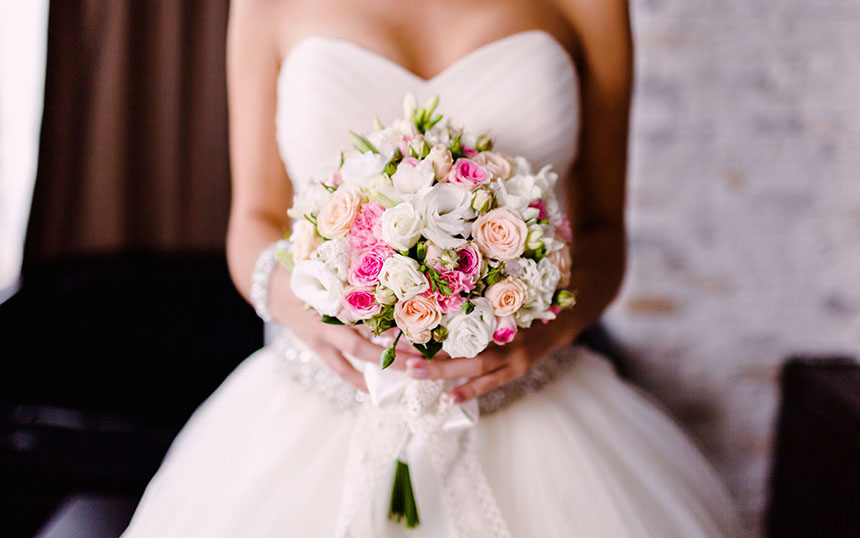 Как заказать букет на свадьбу