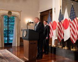 Трамп начал визит в Японию