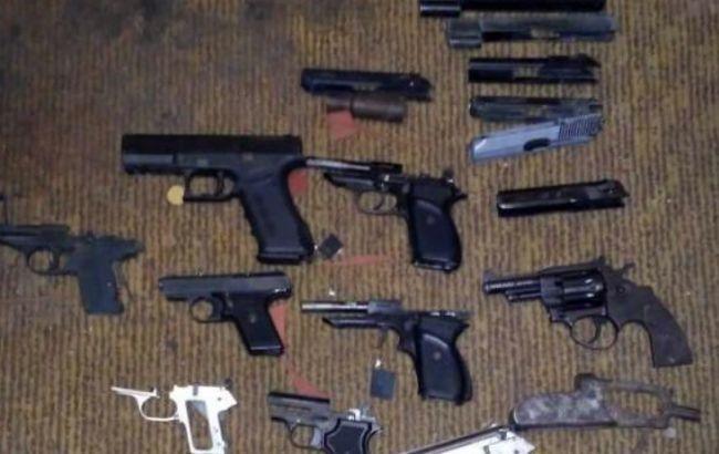 В Запорожье правоохранители обнаружили мастерскую по ремонту и переделке оружия