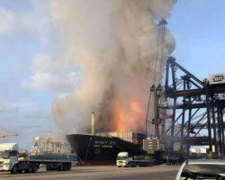 В Таиланде в порту произошел взрыв, десятки пострадавших