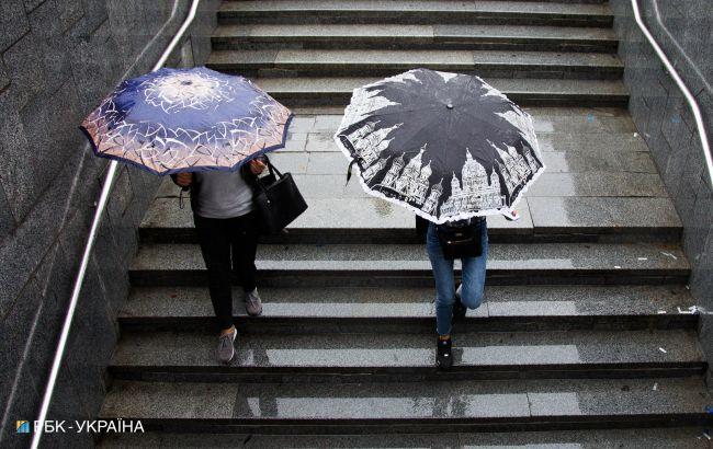 В Украине ожидаются дожди и грозы