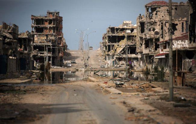 В Ливии в результате боев за Триполи погибло 443 человека