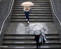 Сегодня Украину накроют дожди с грозами