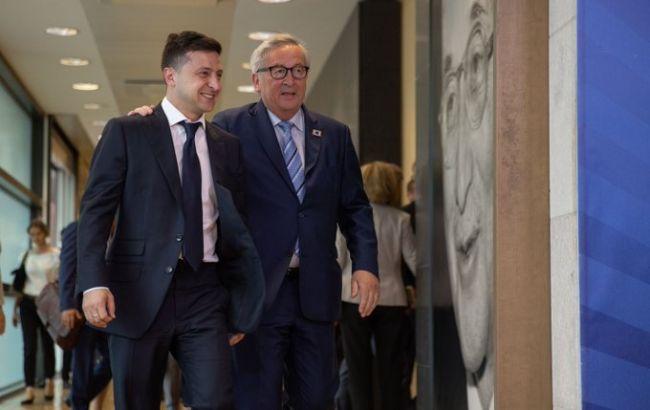 Зеленский провел встречу с президентом Еврокомиссии