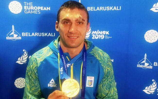 Украина завоевала золотую медаль по боксу на Европейских играх