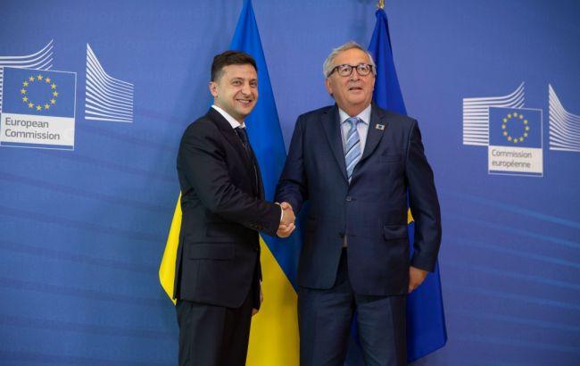 Зеленский и Юнкер договорились о дате саммита Украина-ЕС в Киеве