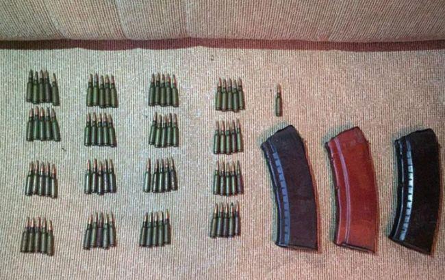 В Донецкой области полиция изъяла арсенал оружия