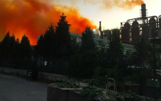 В Турции произошел взрыв на заводе химикатов