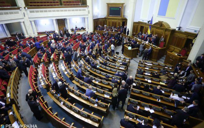 Рада рассмотрела почти 80% поправок к новому избирательному кодексу