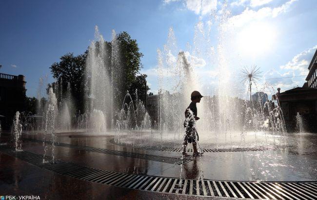 Завтра в Украине жара достигнет +31