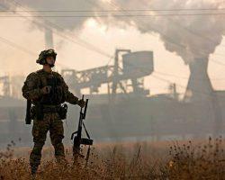На Донбассе ранили бойца ВСУ