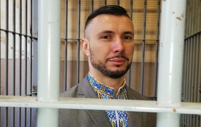 Под посольством Италии в Киеве требовали освободить Маркива