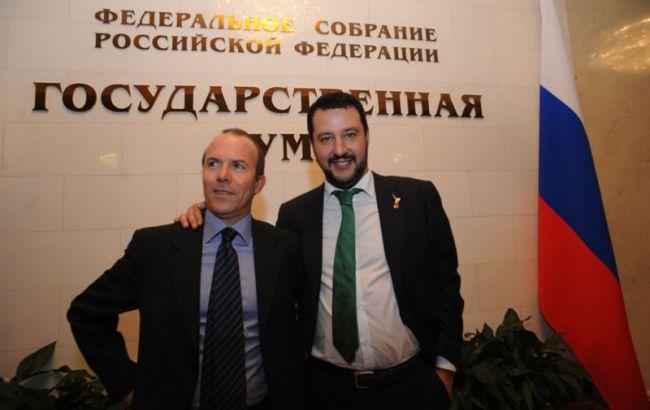 В Италии допросили помощника вице-премьера по делу о финансировании от РФ