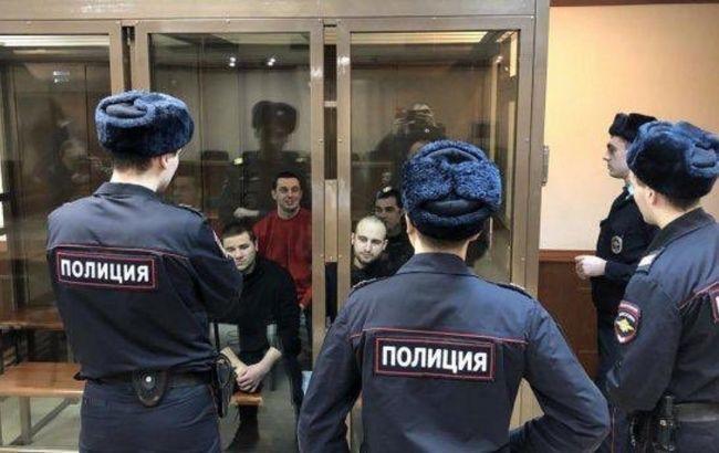 Сегодня суд в Москве решит вопрос о продлении ареста украинским морякам