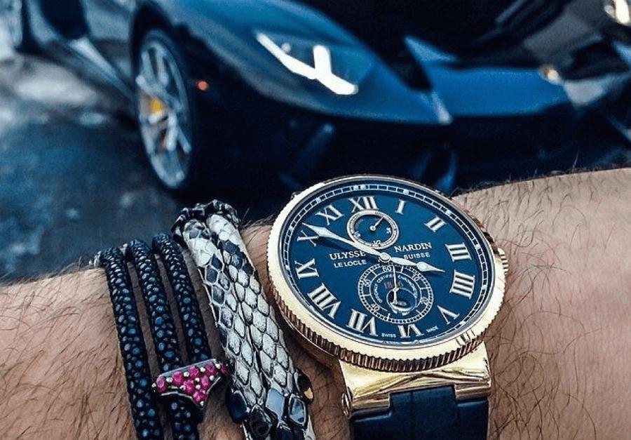 Швейцарские часы – Ulysse Nardin