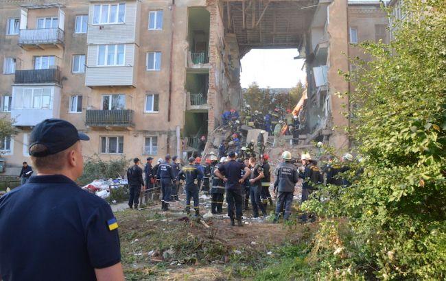 В Дрогобыче под завалами дома нашли 8 тел