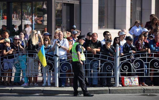 В Киеве мероприятия ко Дню Независимости прошли без серьезных нарушений