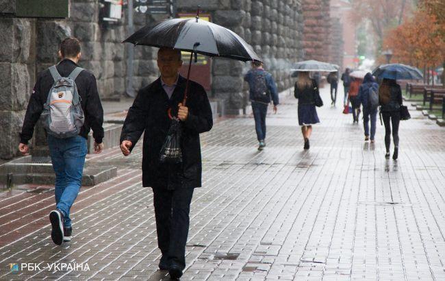 Завтра в Украине ожидаются кратковременные дожди