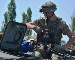 Боевики 6 раз обстреляли позиции ООС, погиб украинский военный