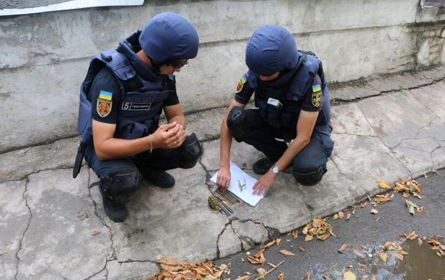 В зоне ООС за неделю обезврежено 137 взрывоопасных предметов