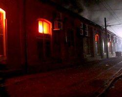 В Одессе горела гостиница