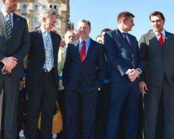 Волкер и Тейлор поблагодарили за прием в Мариинском дворце в День независимости
