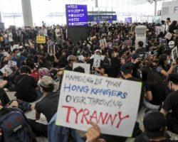 В аэропорту Гонконга пройдут новые акции протеста в эти выходные