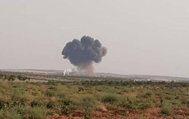 В Сирии сбили самолет сил Асада