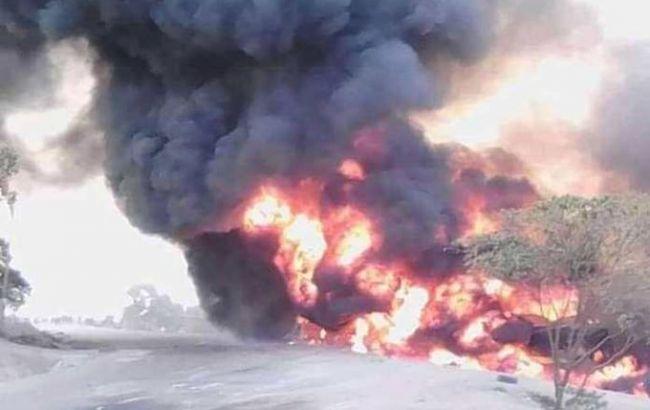 В Уганде взорвался топливный танкер, есть погибшие