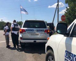 ОБСЕ зафиксировала почти 30 танков оккупантов на полигоне возле Донецка
