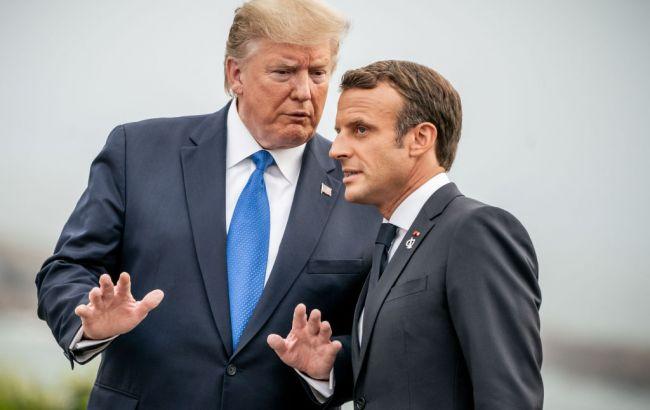 Макрон анонсировал саммит президентов США и Ирана