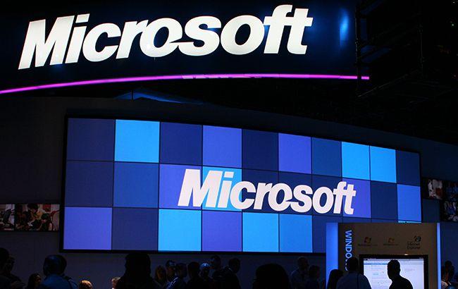 В работе сервисного продукта Microsoft произошел крупный сбой