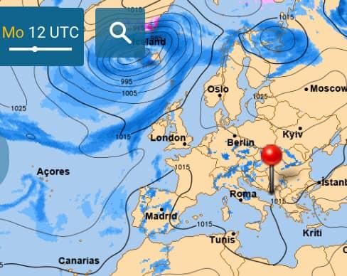 Завтра антициклон принесет в Украину сухую и солнечную погоду