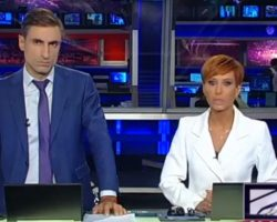 Выпуск новостей грузинского