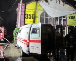 В больницах Одессы остаются 8 пострадавших при пожаре в гостинице