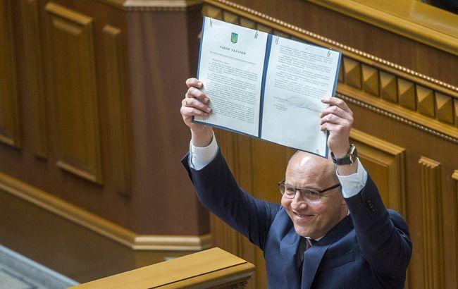 Парубий подписал новый избирательный кодекс