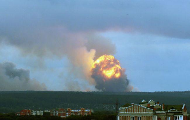 На военном складе под Ачинском возобновились взрывы, есть пострадавшие