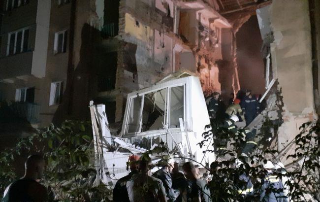 В результате взрыва газа в четырехэтажке в Дрогобыче погиб человек