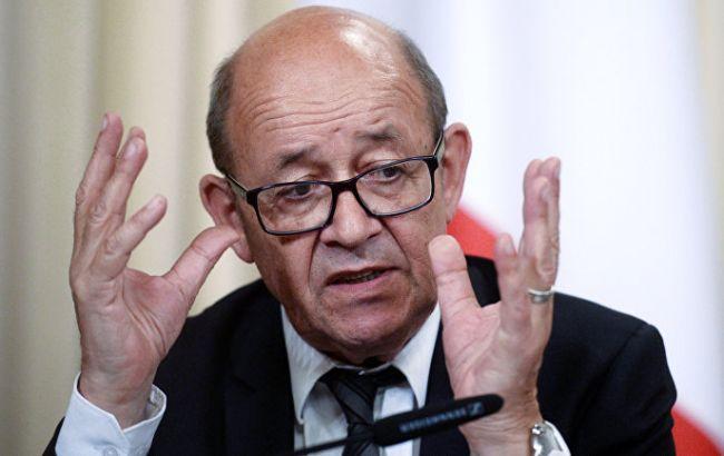 О снятии санкций с России говорить рано, - глава МИД Франции