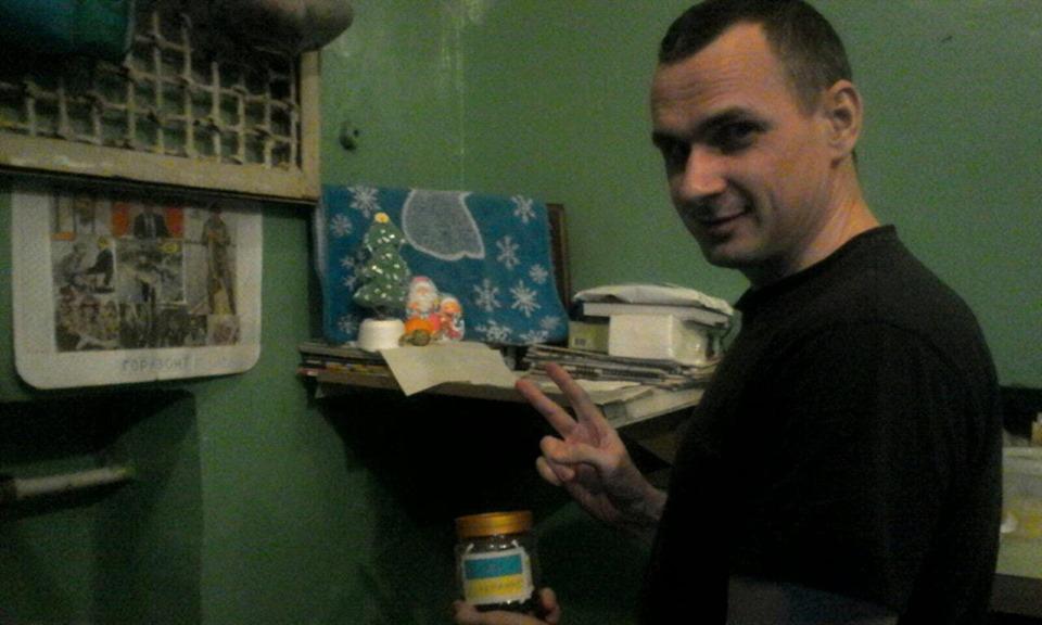 Сенцов показал единственное фото, сделанное в тюрьме