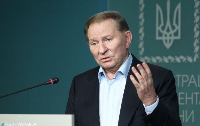 Кучма считает, что Макрон и Меркель будут уговаривать Зеленского уступить Путину