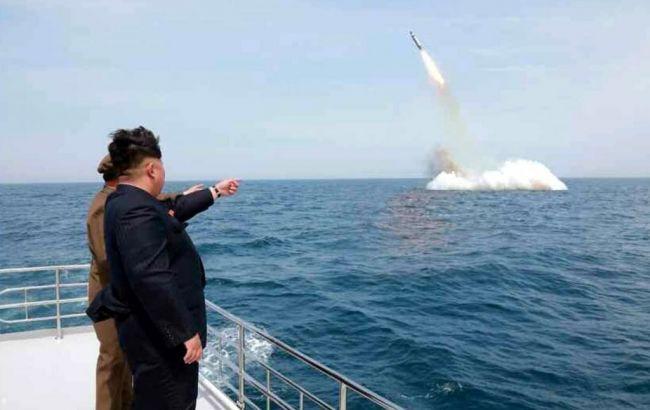 В КНДР сообщили о запуске с подлодки баллистической ракеты