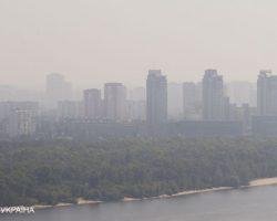 В Голосеевском районе Киева наблюдается ухудшение воздуха, - КГГА